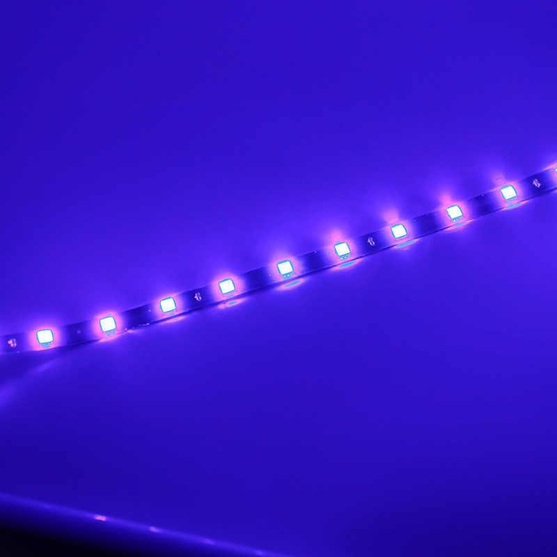 1 шт. 30 см 60 см Автомобильная декоративная лампа цветная светодиодная лента 5050 гибкая лента световая лента дневные ходовые огни DRL ангельские глаза