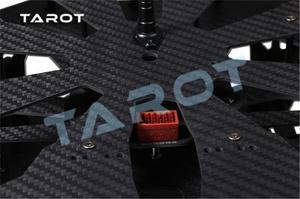 Image 4 - Kit de armazón de cuadricóptero con patín de aterrizaje electrónico para Dron teledirigido, fibra de carbono plegable, F11282, Tarot TL4X001 X4