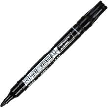 ФОТО deli 3 piece can add ink markers big pen oil black marker no fade color express logistics s561