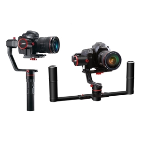 Feiyu Tech a2000 3-Axis Gimbal Handheld Stabilizer for Mirrorless DSLR Cameras (with Dual Hand Holder) кольца nina ricci nr 702070911100