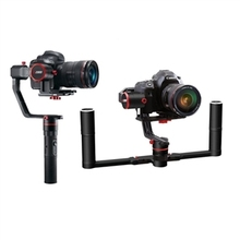 Feiyu Tech a2000 3 Axis Gimbal Handheld Stabilizer for Mirrorless DSLR Cameras with Dual Hand Holder