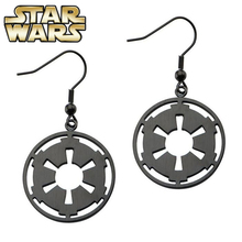 Star Wars Imperial Drop Earrings