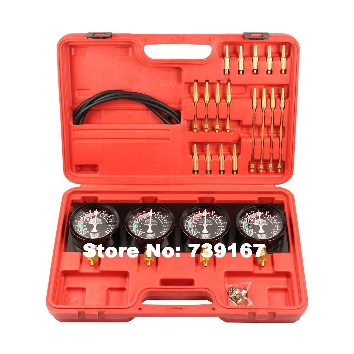 Fuel Vacuum Carburetor Synchronizer Diagnostic Test Adjust Setting Tool Set ST0101