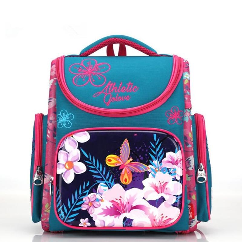 Новый ортопедические школьные рюкзаки для девочек мультфильм 3D рюкзак Начальная Школа сумки детский Ранец Дети Книга сумка Mochila Escolar ...