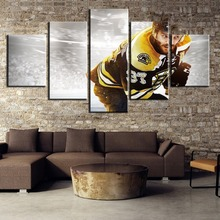 Modular 5 Panel HD Print Large Ice Hockey Sport Cuadros Landscape Canvas Wall Art Home Decor For Living Room Painting