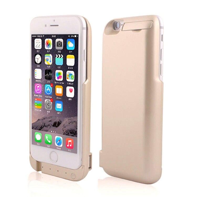 bilder für Dual 10000 mAh Energienbank Externe Batterie-Backup Fall Abdeckung Für iPhone6S
