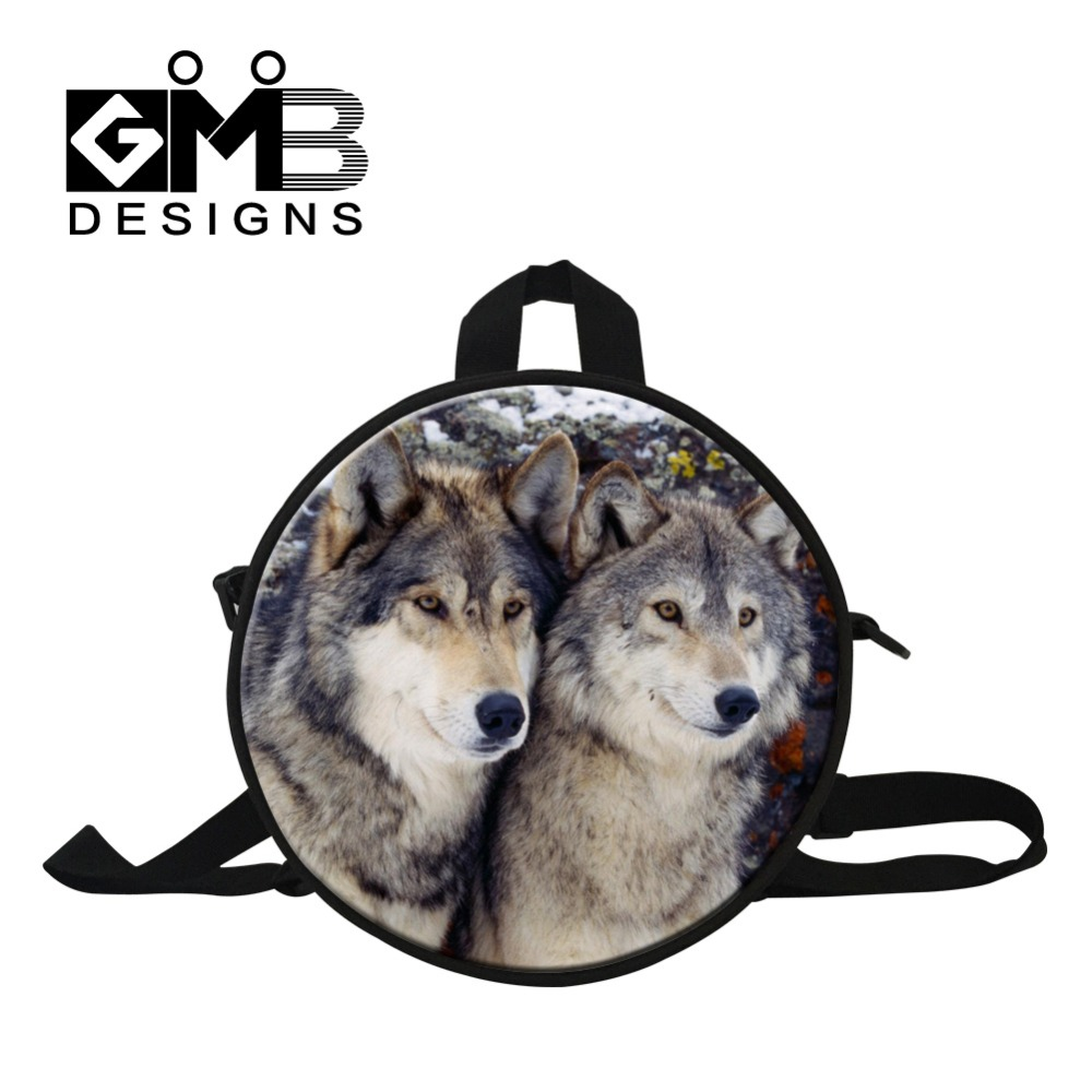 Cool Wolf mini backpack for preschool boys,kindergarden bag for traveling,kids small backpack for traveling,baby cute day pack