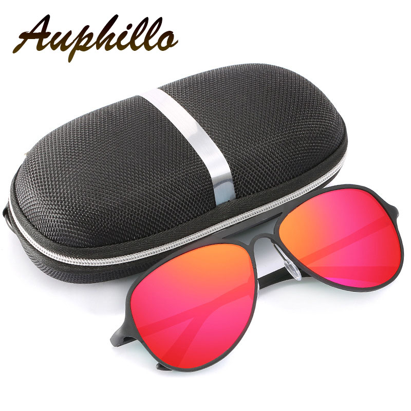 AUPHILLO Fashion Sunglasses Brand Woman Polarized Sunglasses Aluminum Magnesium Men Driving Sun glasses Pilot Sunglasses A154 in Men 39 s Sunglasses from Apparel Accessories