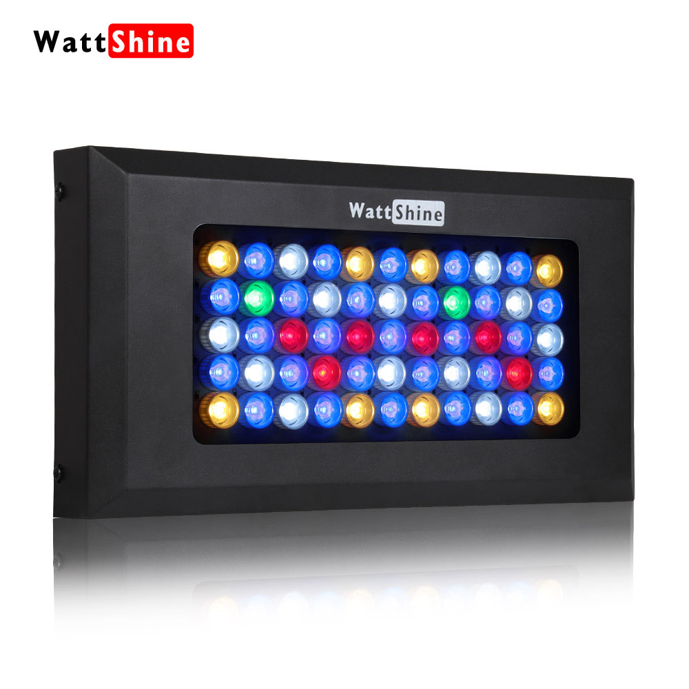 Dimmable LED Aquarium Light 165w 6 bands spectrum marine aquarium led lighting lamp for coral reef and fish tank