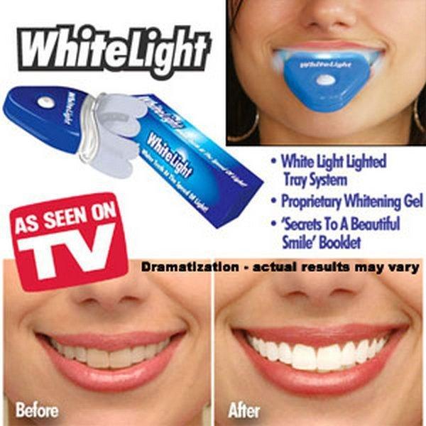 Free Shipping 10pcs/lot Dental White Light Teeth Whitener AS SEEN ON TV Best Selling OPP Bag Pkg