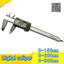 Cheap price 0-150mm/6″ plastic casing Digital CALIPER VERNIER caliper plastic digital caliper GAUGE MICROMETER