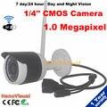 Chegada de novo! câmera ip wi-fi P2P suporte android sistema de Monitoramento de visão noturna sem fio à prova d' água ao ar livre casa de segurança CCTV