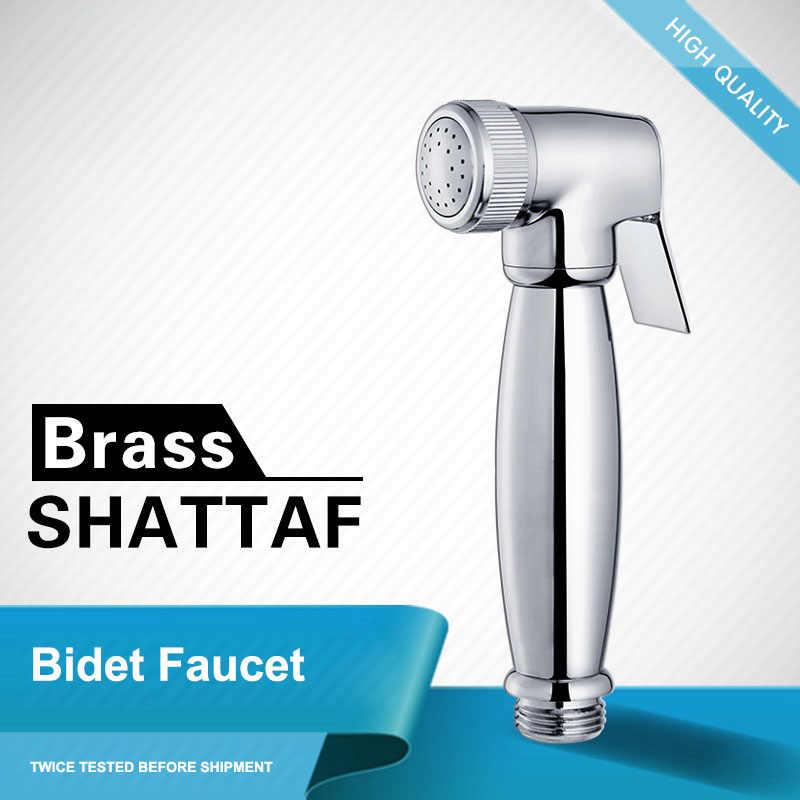 Baño de latón Bidet espray cabezales de ducha de mano baño Shattaf rociador kit de ducha, Torneira Lavabo, grifo de Bidet lavadora de inodoro