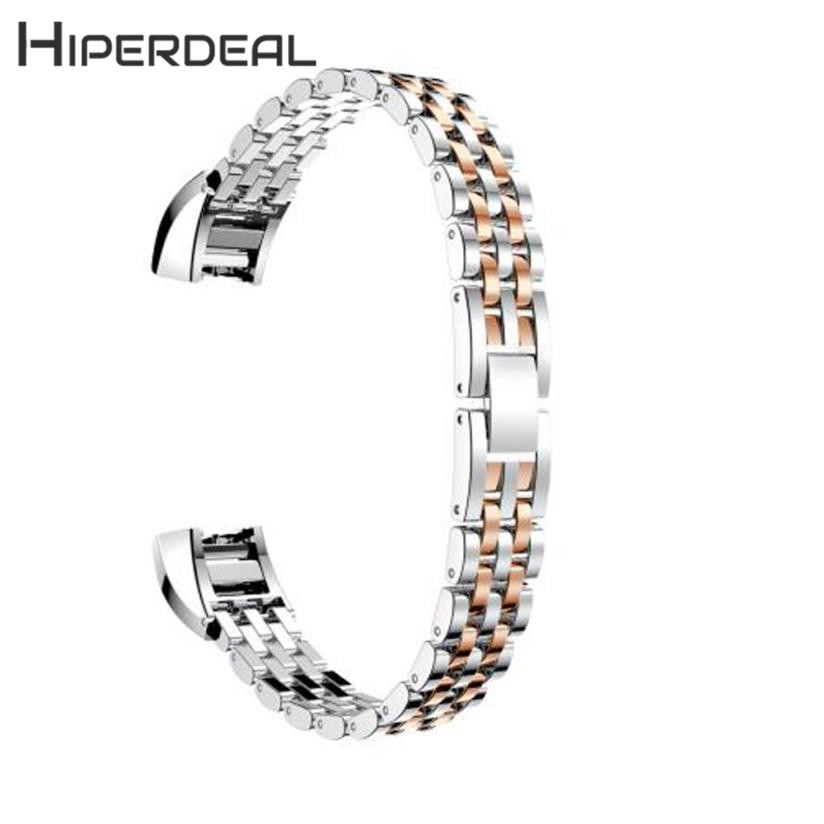 HIPERDEAL New Genuine Stainless Steel Watch Bracelet Band Strap For Fitbit Alta HR Watch 18Jan05 Drop Ship F