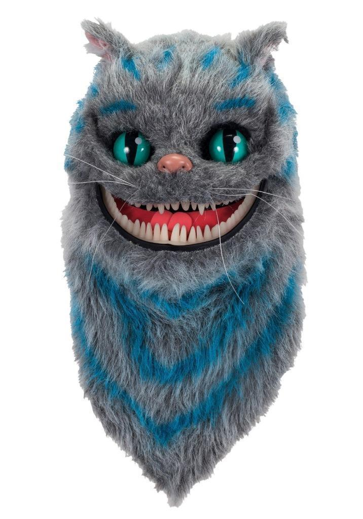 New ALICE IN WONDERLAND CHESHIRE CAT Plush MOUTH MOVER MASK Halloween Costumes Cosplay lego lego star wars 75092 истребитель набу™ naboo starfighter™
