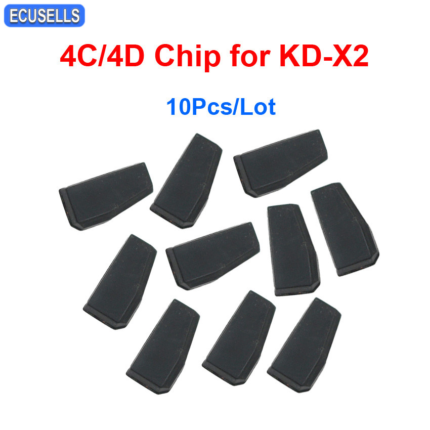 10 Pcs Lot KEYDIY 4C 4D Copy Chip Car Key Chip for KD X2 Key Programmer
