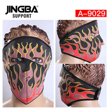 JINGBA SUPPORT Hot Outdoor Ski Mask Halloween Skull Cool Mask Riding Sport Moto Bike Mask Windproof Full Face Facemask Dropshipp цены