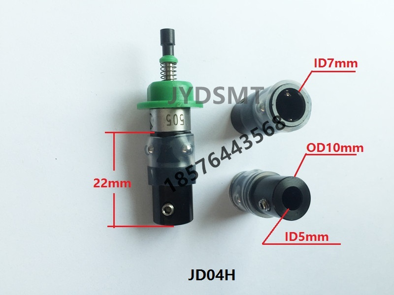 Image 2 - SMT JUKI NOZZLE HOLDER   Nema8 hollow shaft stepper holder  motor special connector-in Pneumatic Parts from Home Improvement
