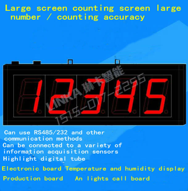 Counter Electronic board LED Production board 4-20mA Analog Display Panel Counting Timing board can be customizedCounter Electronic board LED Production board 4-20mA Analog Display Panel Counting Timing board can be customized