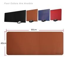 Zoresyn большой 900×400 мм из искусственной кожи игровой Мышь площадку большой коврик для клавиатуры Расширенный бюро площадку и Коврики для офиса, бытовые, геймер, школа