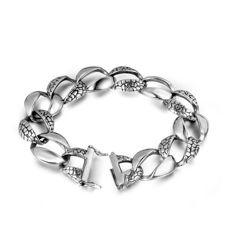 Bijoux personnalité punk léopard et simple titane acier bracelets bracelet accessoires CE294