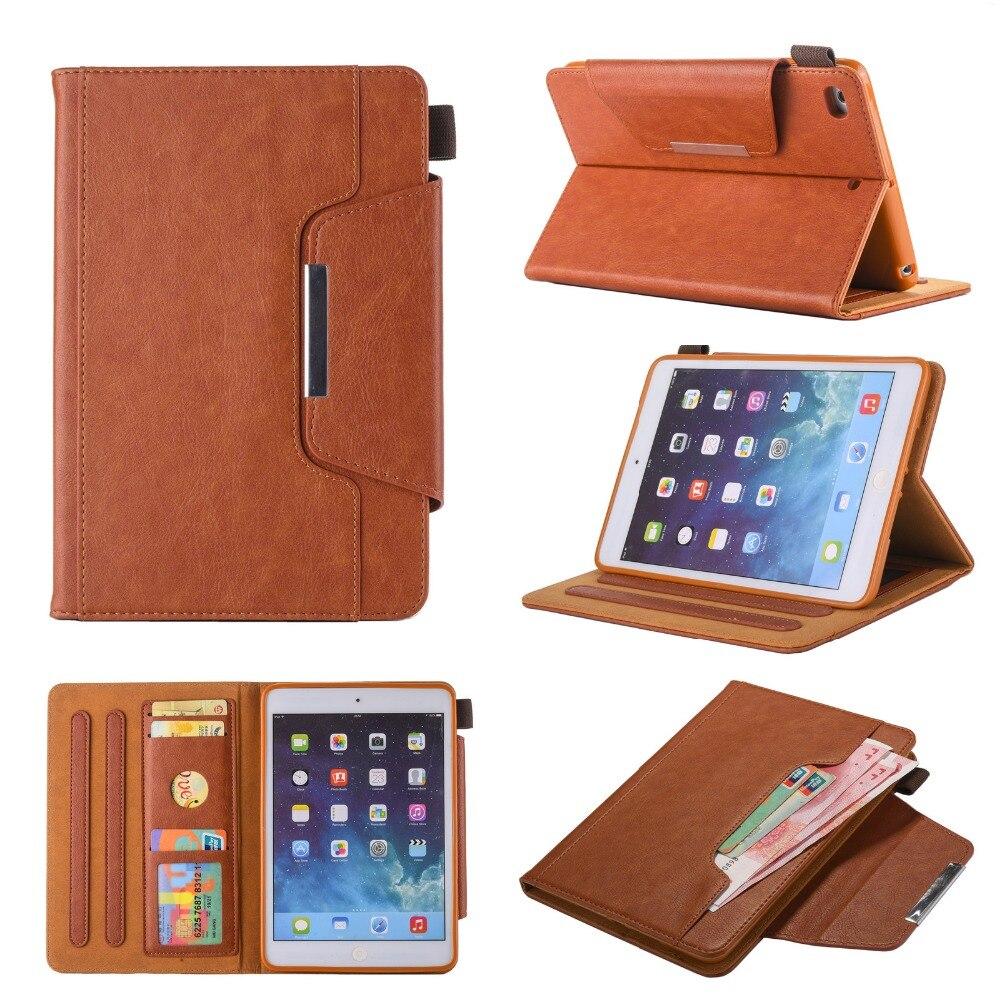 Pour iPad Mini 7.9 Tablet Premium Étui En Cuir PU Smart Cover Auto sommeil Wake Flip Folio Magnétique Cas pour iPad Mini 4 3 2 1