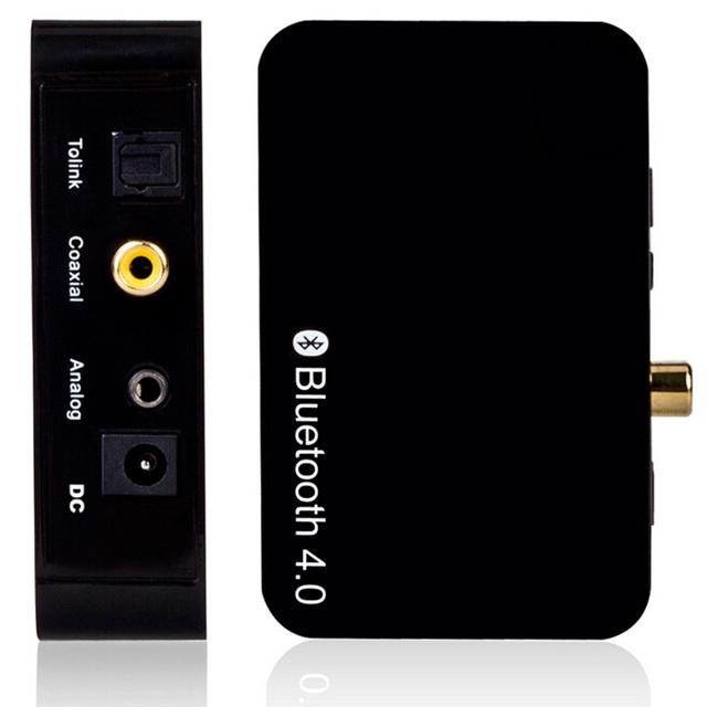 2016 Caliente venta caliente Inalámbrica Bluetooth 4.0 Receptor de Audio para Teléfonos Inteligentes iPhone PC Enchufe de LA UE