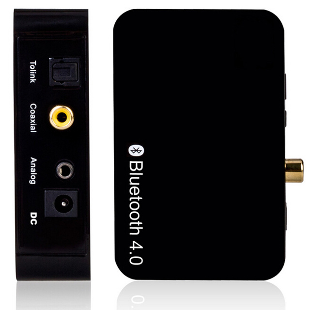 Venda quente sem fio bluetooth 4.0 receptor de áudio para telefones inteligentes iphone pc plug ue