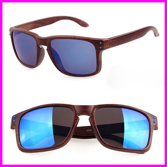 2015 Summer New Fashion Goggles Sunglass Mens Sports Oculos de sol Wood Color Sun glasses For Women Brand Designer Glasses