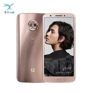 Image 1 - Motorola telefon komórkowy Moto zielony Pomelo 1S XT1925 Snapdragon 450 4GB RAM 64GB ROM 5.7 cal 18:9 IPS odcisk palca 3000mAh telefon komórkowy