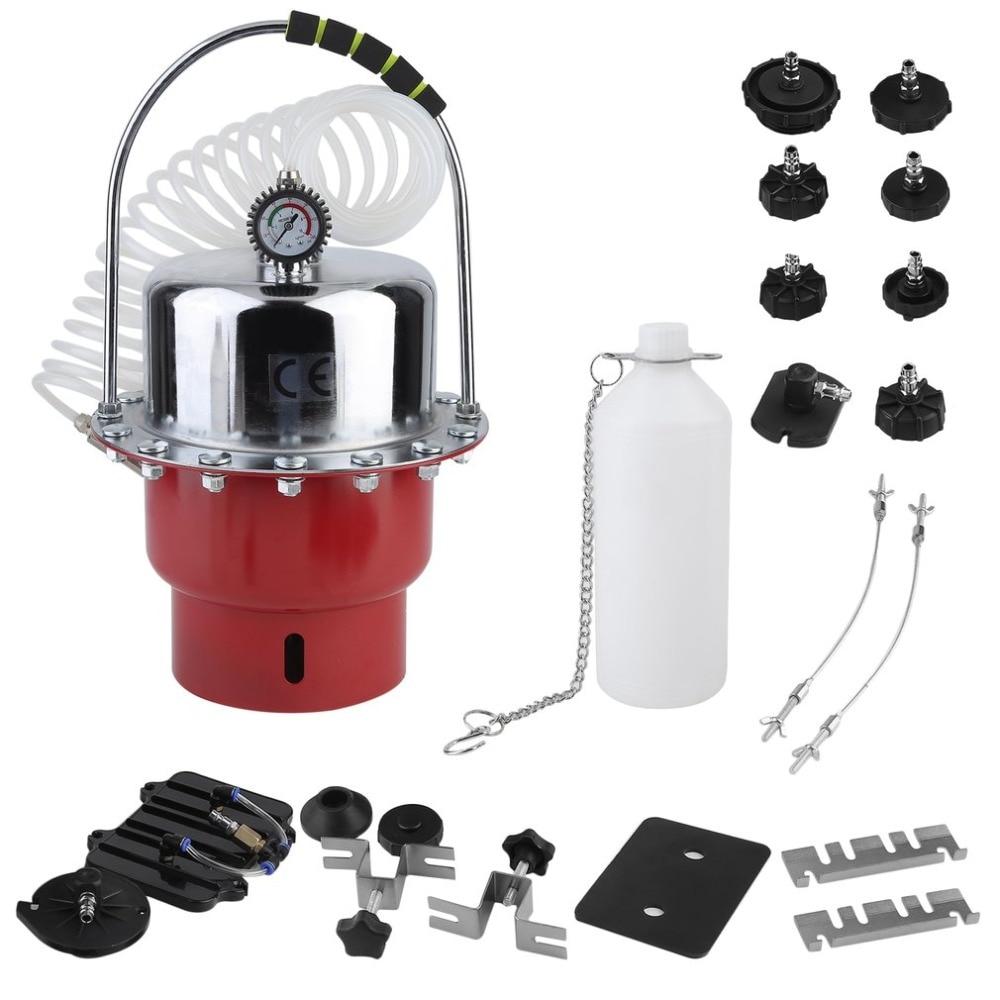 Car Brake Fluid Exchanger 5L Auto Repair Tools Pneumatic Pressure Bleeder Set Professional Brake Clutch System Device NEW
