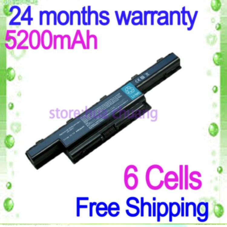 JIGU 4400mah battery for acer AS10D31 AS10D51 AS10D81 AS10D75 AS10D61 AS10D41 AS10D71 Aspire 4741 5742G 5552G