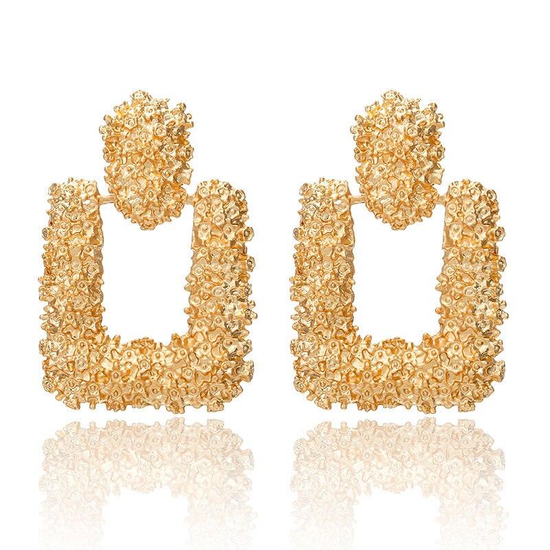 19 Big Geometric Earrings Fashion Statement earrings For Women Hanging Dangle Earrings Drop Earrings modern Jewelry 571 11