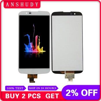 black/white For LG K10 TV K410TV K10TV K430TV LCD Display Panel