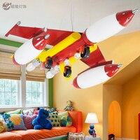 Free Shipping S Children Home Children S Room Bedroom Light Fixtures Wrought Iron Chandeliers Study Creative