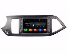 "4 ГБ Оперативная память Octa Core 8 ""Android 8,0 dvd-плеер автомобиля для Kia Picanto Утро 2014 с радио gps bluetooth WI-FI USB видеорегистратор зеркало-link"