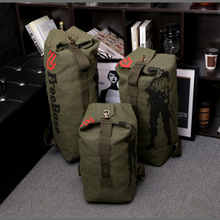 Canvas Portable Travel Luggage Backpack Army Outdoor Bag For Hiking Camping Men Tactical Rucksack Military Backpack