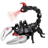 Remote Control Scorpion, Infrared Radio Control Kids Toy RC Scorpion Realistic Simulation Joke Scary Trick Simulation Animal Toy