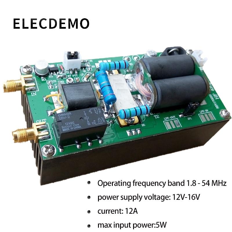 2018 DIY kits 100W SSB linear HF Power Amplifier For YAESU FT-817 818 kx3 IC-70