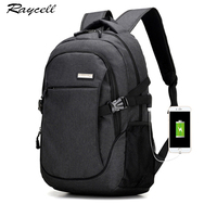 Swiss Gear Men Usb Charging Port Backpack With Laptop Compartment For Women School Bag Black Business