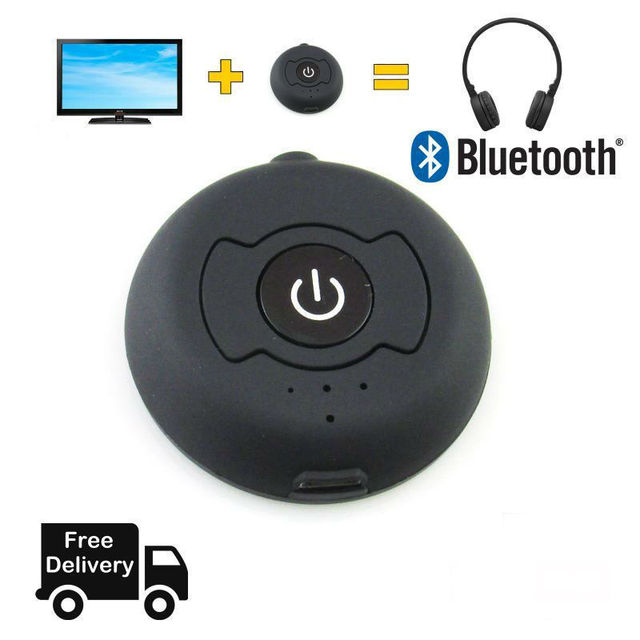 A2DP Headphones Dongle Adapter Speakers Wireless Jack Stereo 3.5mm DVD Audio Bluetooth 4.0 Transmitter for TV MP3