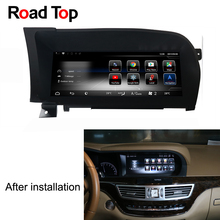 10.25″ Android 7.1 Car Radio GPS Navigation Bluetooth Head Unit Screen for Mercedes Benz W221 2006-2013 S280 S320 S350 S400 S500
