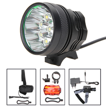 Super Bright 15000Lm 9x XM-L T6 LED Waterproof Outdoor Sports Head Lights Bike Bicycle Cycling Flashlight Lamp Lights 3 Modes