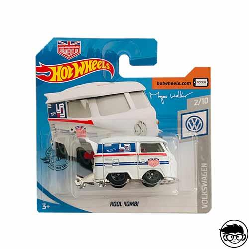 Hot Wheels Kool Kombi Volkswagen 136/250 2019 Short Card