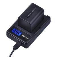 1Pc Batmax 2500mAh NP-FV70 NP FV70 NPFV70 batería + cargador USB con LCD para Sony NP-FV50 FV30 HDR-CX230 HDR-CX150E HDR-CX170 CX300 Z1