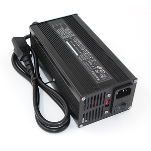 Image 3 - 29.4V 10A Lithium battery charger For 7S 24V Lipo/LiMnO4 battery charger E Bike High Quality with  CE&Rohs