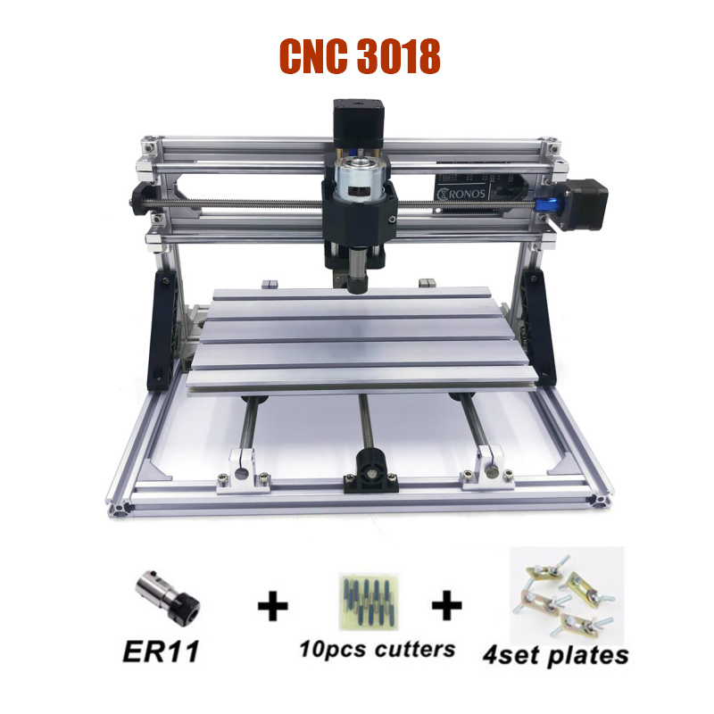 Small CNC 3018 Laser Milling Machine With GRBL SOftware Can add 500mw/2500mw/5500mw laser