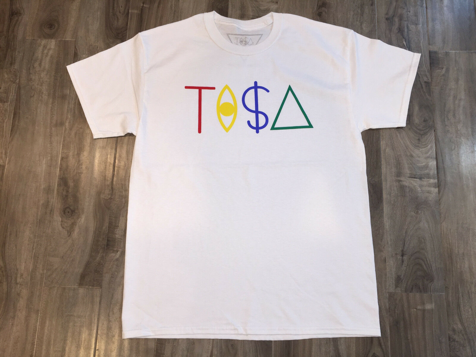 TISA <font><b>T</b></font>-<font><b>SHIRT</b></font> TI$A - WHITE SNAPBACK TYGA LAST KINGS BIG <font><b>SEAN</b></font> Hipster Tees Summer Mens <font><b>T</b></font> <font><b>Shirt</b></font> image