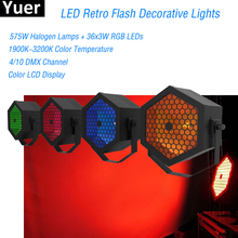 LED 700W Retro Flash Decorative Lights Christmas Snowman Projector Disco DJ Decorations For Stage Home Night Light