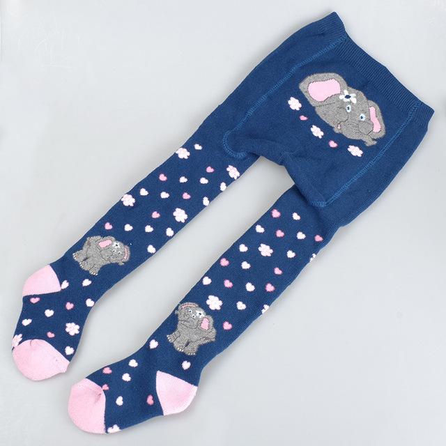 Medias para bebés bebé strumpfhosen panti medias medias del bebé del algodón para las muchachas infantiles de los niños medias de invierno
